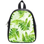 Fern Leaves School Bags (Small)  Front