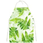 Fern Leaves Full Print Aprons Front