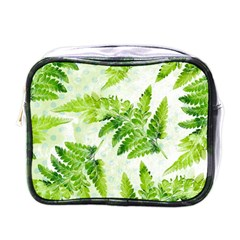 Fern Leaves Mini Toiletries Bags