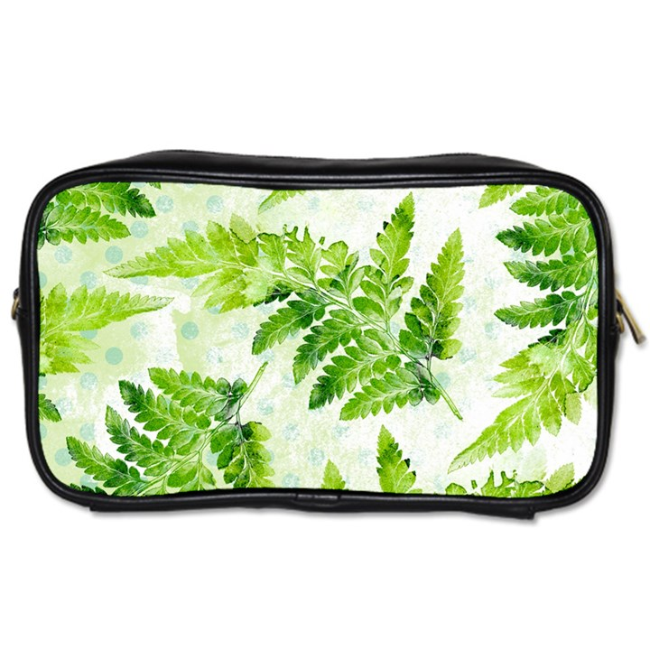 Fern Leaves Toiletries Bags