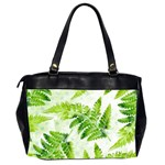 Fern Leaves Office Handbags (2 Sides)  Back