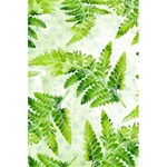 Fern Leaves 5.5  x 8.5  Notebooks Back Cover Inside