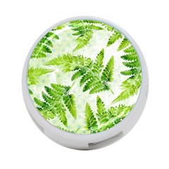 Fern Leaves 4 Port Usb Hub (one Side)