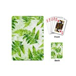Fern Leaves Playing Cards (Mini)  Back