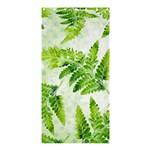 Fern Leaves Shower Curtain 36  x 72  (Stall)  33.26 x66.24 Curtain