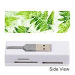 Fern Leaves Memory Card Reader (Stick)  Front
