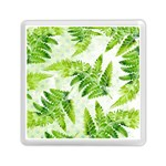 Fern Leaves Memory Card Reader (Square)  Front