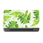 Fern Leaves Memory Card Reader with CF Front