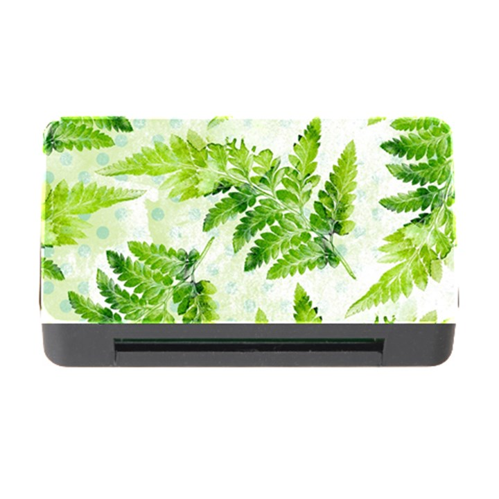 Fern Leaves Memory Card Reader with CF
