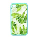 Fern Leaves Apple iPhone 4 Case (Color) Front
