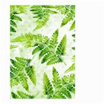 Fern Leaves Small Garden Flag (Two Sides) Back
