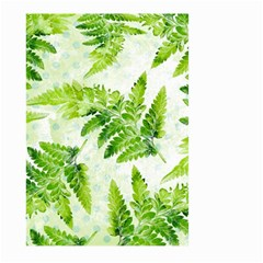 Fern Leaves Large Garden Flag (Two Sides)