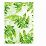 Fern Leaves Large Garden Flag (Two Sides) Back