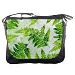 Fern Leaves Messenger Bags Front