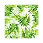 Fern Leaves Acrylic Tangram Puzzle (6  x 6 ) Front