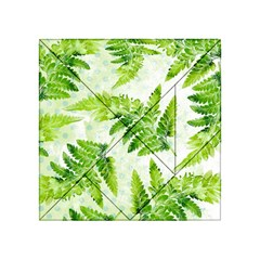 Fern Leaves Acrylic Tangram Puzzle (4  x 4 )