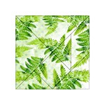 Fern Leaves Acrylic Tangram Puzzle (4  x 4 ) Front