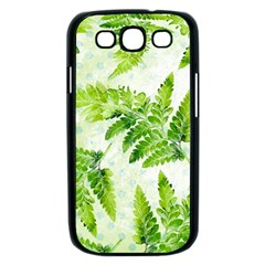 Fern Leaves Samsung Galaxy S III Case (Black)