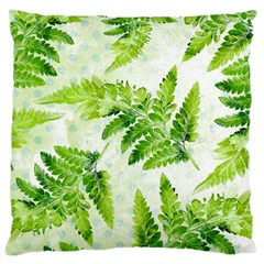 Fern Leaves Large Cushion Case (One Side)