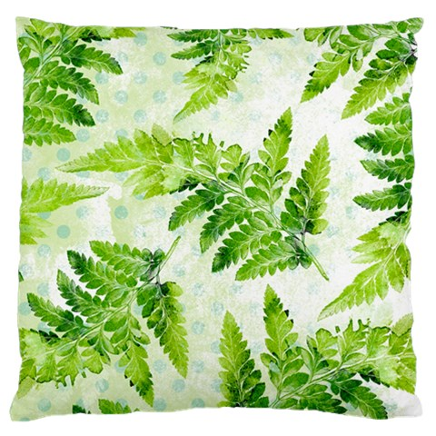 Fern Leaves Large Cushion Case (Two Sides)
