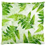 Fern Leaves Large Cushion Case (Two Sides) Back