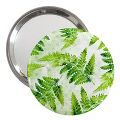 Fern Leaves 3  Handbag Mirrors