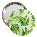 Fern Leaves 3  Handbag Mirrors Front