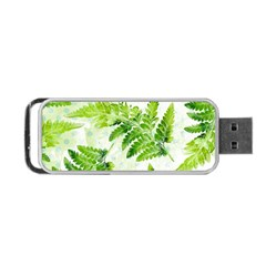 Fern Leaves Portable USB Flash (One Side)