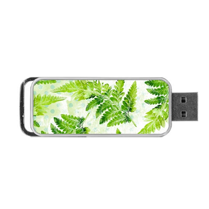 Fern Leaves Portable USB Flash (Two Sides)
