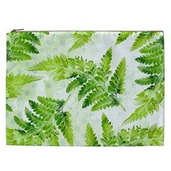 Fern Leaves Cosmetic Bag (XXL)