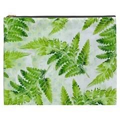 Fern Leaves Cosmetic Bag (xxxl)