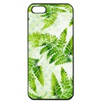 Fern Leaves Apple iPhone 5 Seamless Case (Black) Front