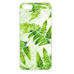 Fern Leaves Apple iPhone 5 Seamless Case (White) Front