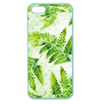 Fern Leaves Apple Seamless iPhone 5 Case (Color) Front
