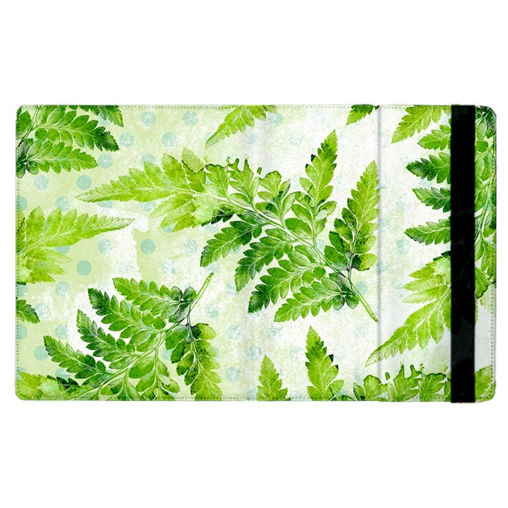 Fern Leaves Apple iPad 3/4 Flip Case