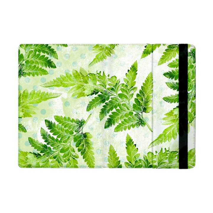 Fern Leaves Apple iPad Mini Flip Case
