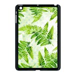 Fern Leaves Apple iPad Mini Case (Black) Front