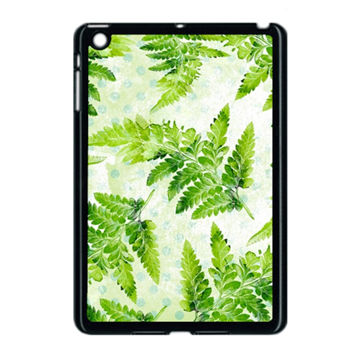 Fern Leaves Apple iPad Mini Case (Black)