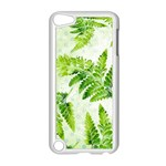 Fern Leaves Apple iPod Touch 5 Case (White) Front
