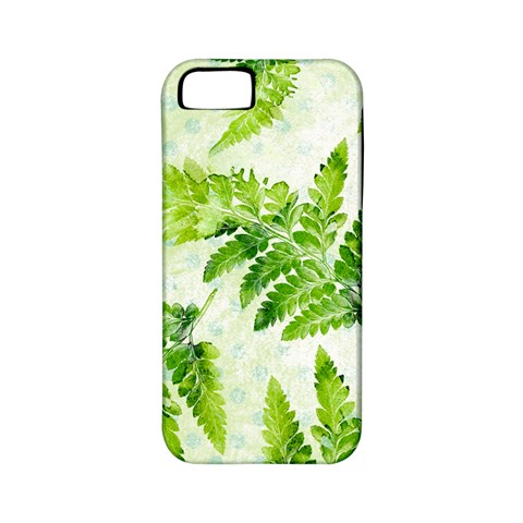 Fern Leaves Apple iPhone 5 Classic Hardshell Case (PC+Silicone)