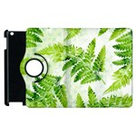 Fern Leaves Apple iPad 2 Flip 360 Case Front