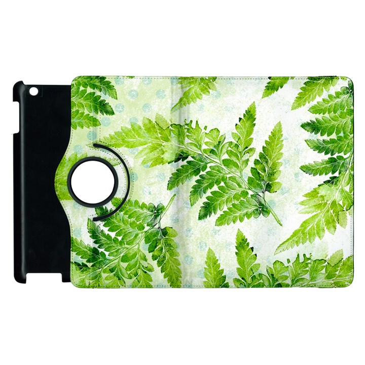 Fern Leaves Apple iPad 2 Flip 360 Case