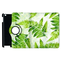 Fern Leaves Apple iPad 3/4 Flip 360 Case