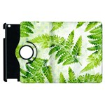 Fern Leaves Apple iPad 3/4 Flip 360 Case Front
