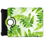 Fern Leaves Kindle Fire HD Flip 360 Case Front