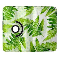 Fern Leaves Samsung Galaxy Note II Flip 360 Case