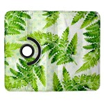 Fern Leaves Samsung Galaxy Note II Flip 360 Case Front