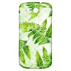 Fern Leaves Samsung Galaxy S3 S III Classic Hardshell Back Case