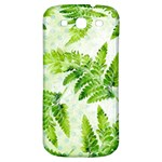 Fern Leaves Samsung Galaxy S3 S III Classic Hardshell Back Case Front