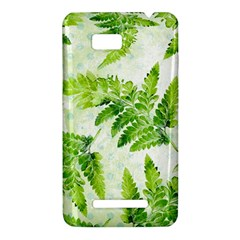 Fern Leaves HTC One SU T528W Hardshell Case